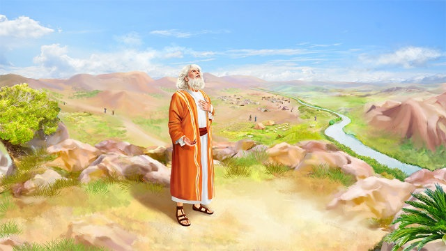 Abraham chosen by Yahweh to father the European people