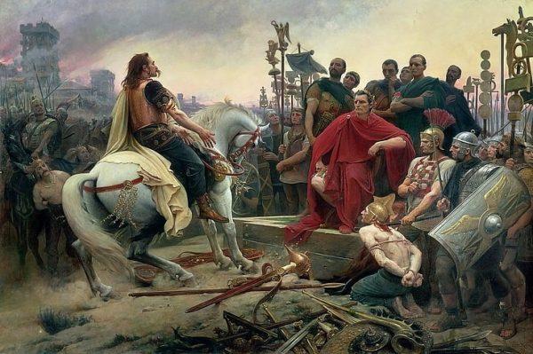 Caesar renamed Gauls to Germans
