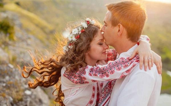 White European Couple